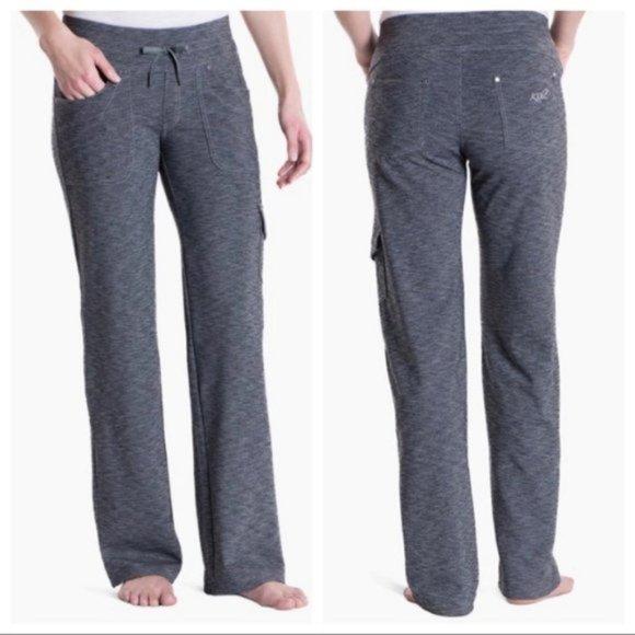 Kuhl Mova Knit Pants Drawstring Pull-on Stretch